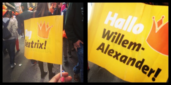 Goodbye Beatrix! Hello Prince Willem Alexander!